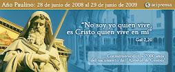 Año Paulino: 28 de junio de 2008 al 29 de junio de 2009