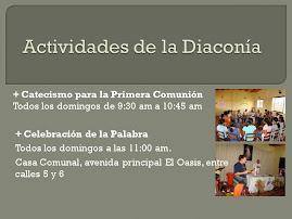 Actividades de la Diaconía