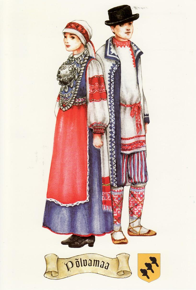 England Traditional Costume Estonia - national costumes ofEngland Traditional Costume