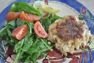 Crab Cakes With Pureed Shrimp