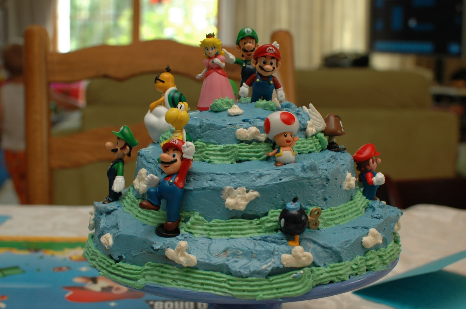A busy lizzie life Super Mario Brothers Birthday Party