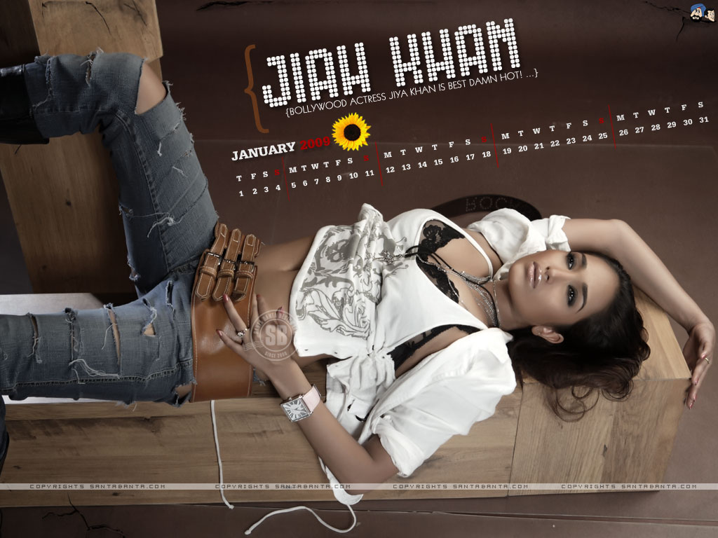 Jiah Khan - Wallpaper Actress