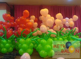 balon iklan sebagai media promosi: balon dekor