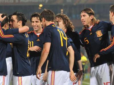 Gana la Selección Española por un 1-2
