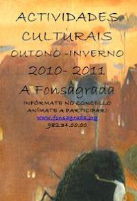 ACTIIVIDADES CULTURAIS CONCELLO DA FONSAGRADA