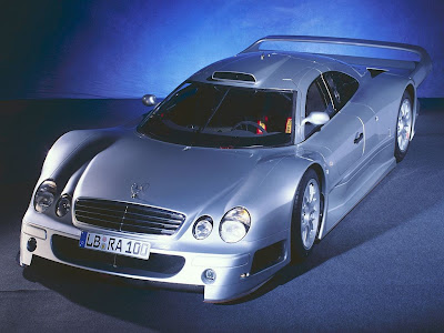 37. Mercedes Benz CLK GTR 38. Mercedes Benz SL65 AMG Black