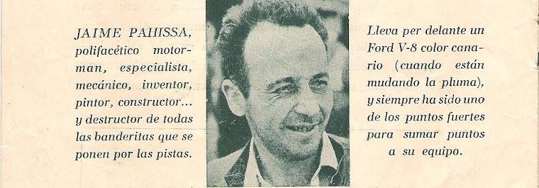 Jaime Pahissa Bonsoms