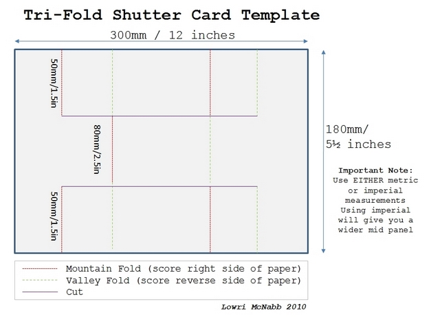 tri fold board. Tri+fold+oard+template