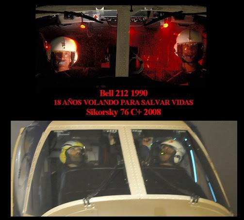 Historia de la Evolución de los Helicópteros SAR en Galicia