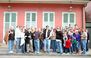 Mardi Gras Bus Trip Group