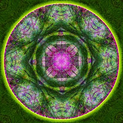 emerald isle mandala