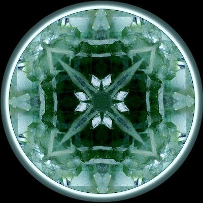 fluorite squared mandala