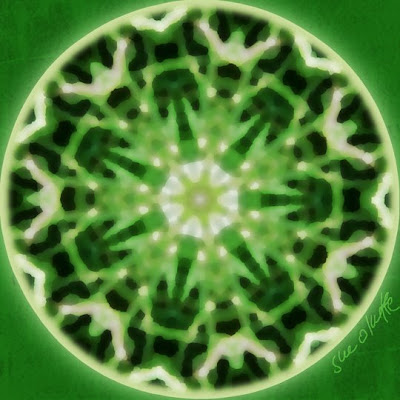 green dreams mandala