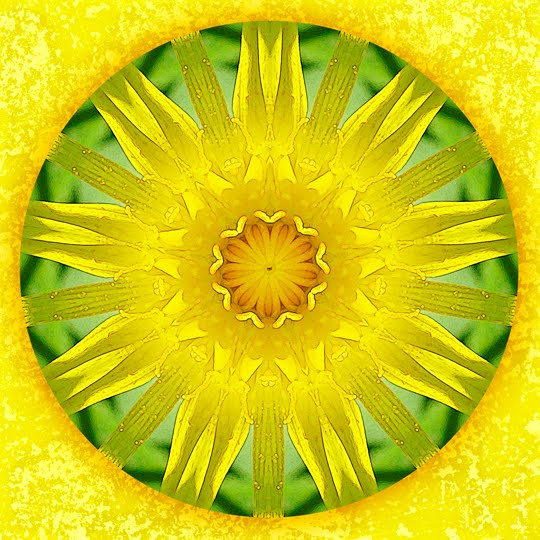 summer blessing mandala