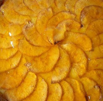 Tarta de manzanas en el microondas apta para celiacos, en 15min