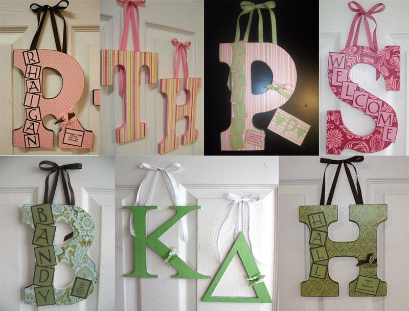 Manualidades para decorar paredes cocina - Letras decorativas pared ...