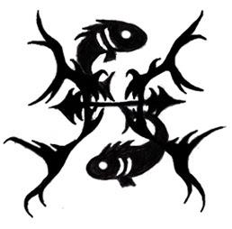 Pisces Symbol Tattoo
