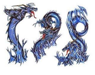 best third temporary dragon tattoo gallery