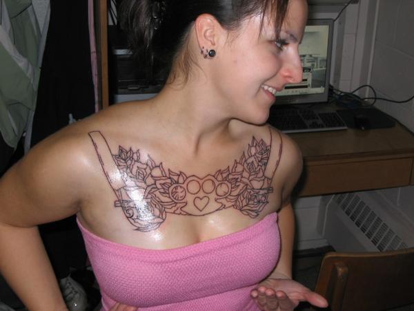 feminine tattoo gallery and beautiful girl