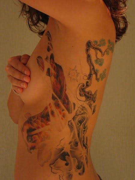 side body tattoos. Designs On The Side Body