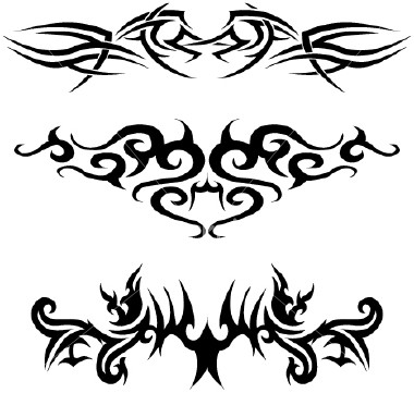 Upper Back Tattoo For Men. Upper back tribal tattoos men.