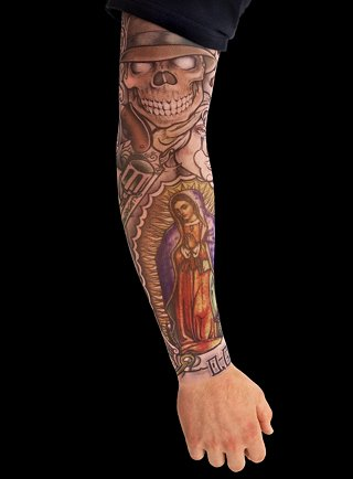 tribal tattoo on the arm arm sleeve tribal tattoos