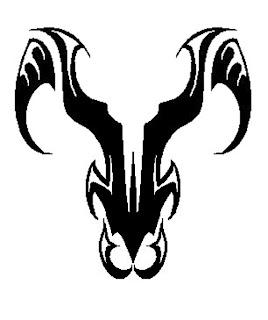 Big aries tattoo designs symbol