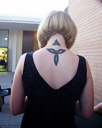 celtic knot designs tattoo girls are very much in this fashion trend.