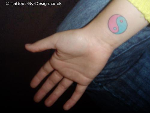 Free art ying yang tattoos