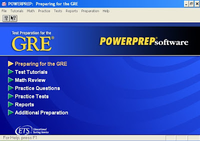 GRE PowerPrep II Software