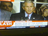 bush worst disaster