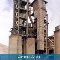 """planta de la fabrica de cemento """"ANDINO"""""""