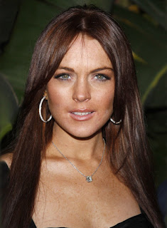 Lindsay Lohan Long Hairstyles