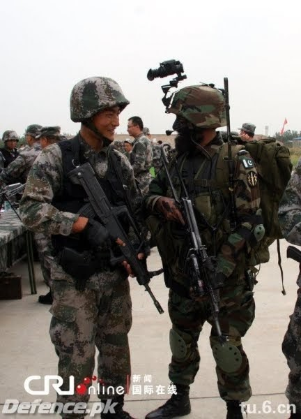 pak army and chinese army exercise pics pakistan