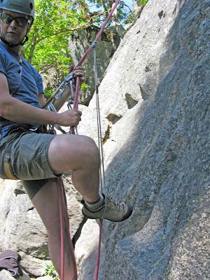 rope climbing
