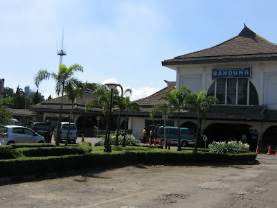 Bandung train station - North parking lot