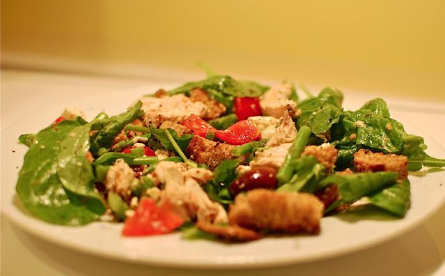 Sunset Recipe #2: Grilled Chicken Pita Salad