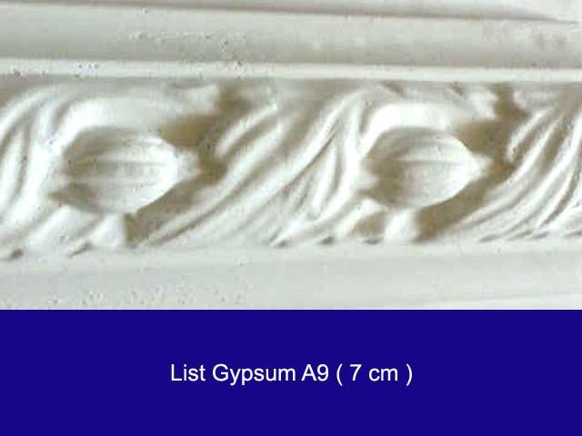 list profile gypsum murah Rp.9.000,- ukuran 10 cm/2 meter/batang