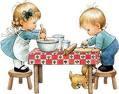 Els petits cuinen