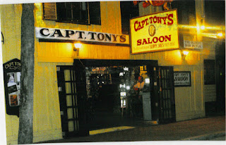 You may bump into more than just bar patrons at Captain Tony's Saloon in Key West, Florida