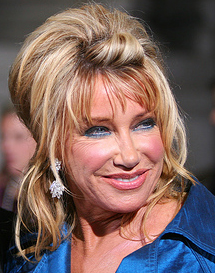 Suzanne Somers star of Three's Company, She's The Sheriff, and Step by Step
