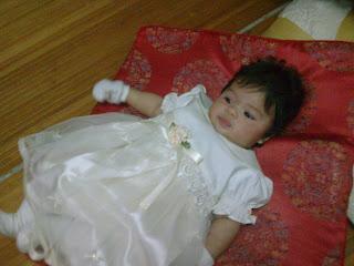 Nur Qharis Alia anak angah....