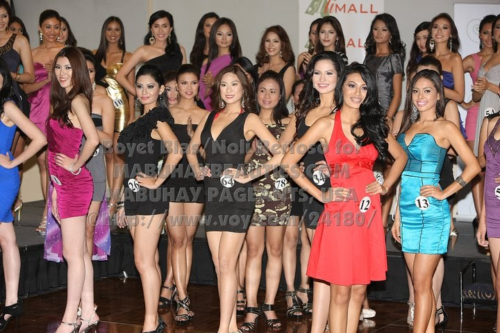 PINOY PAGEANT CENTRAL: Bb. Pilipinas 2011 Top 50 Candidates
