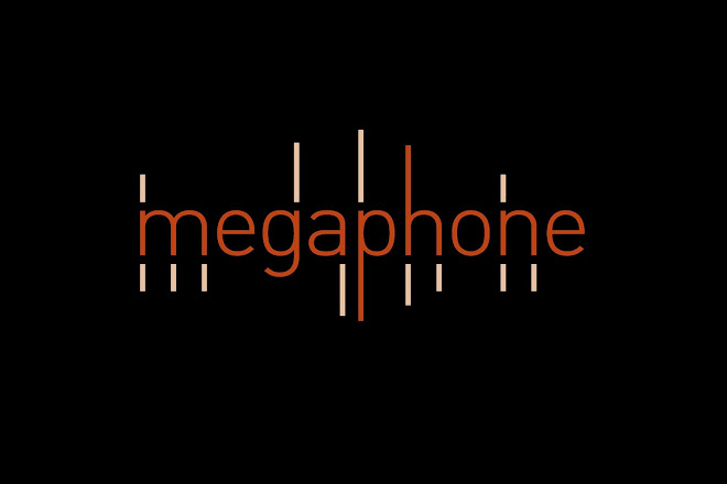 The Megaphone record label home page