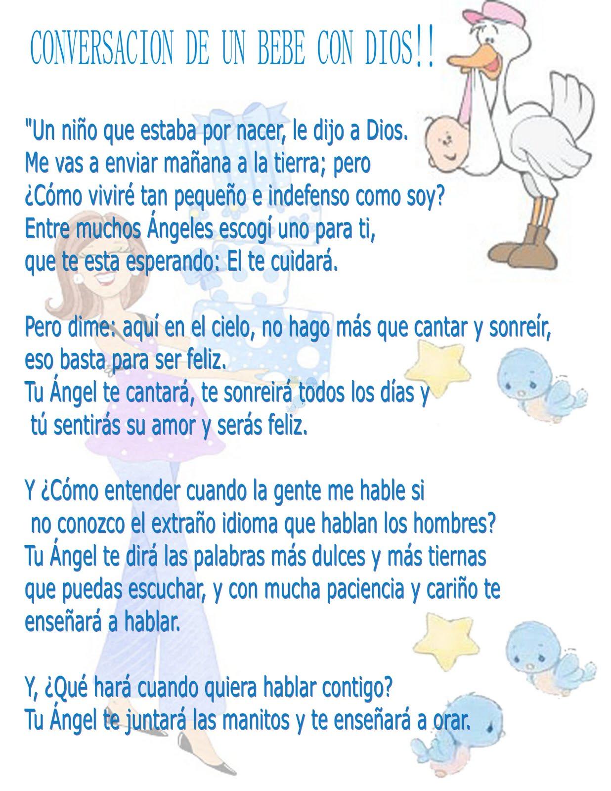 Frases cristianas para invitaciones a baby shower - Imagui