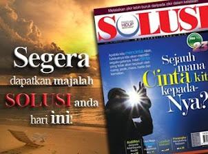 Edisi terbaru Solusi,jom klik!!