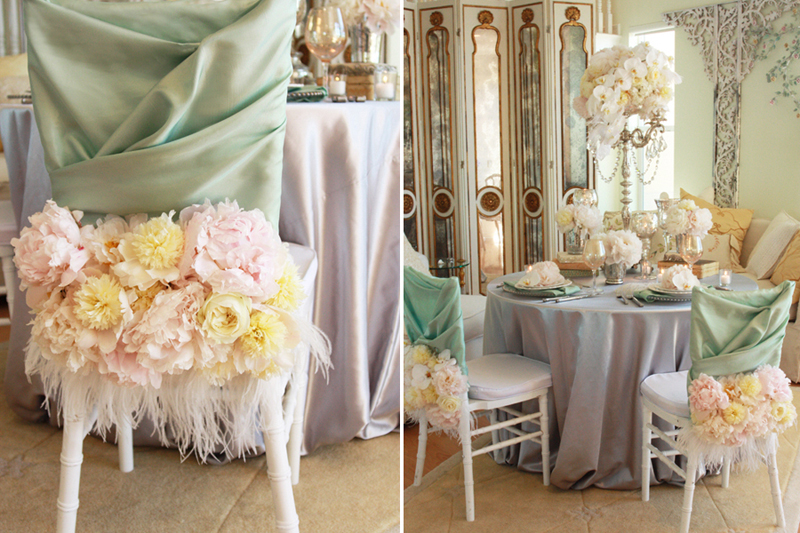 Clodaghs blog modern and luxurious looks wedding centerpieces a vintage inspired wedding fit for marie antoinette herself french wedding decorations junglespirit Images
