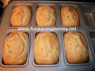 Low Fat Banana Nut Bread Recipe...YUM! - Fun Saving Money