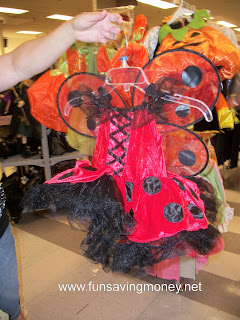 Ladybug costume for girls