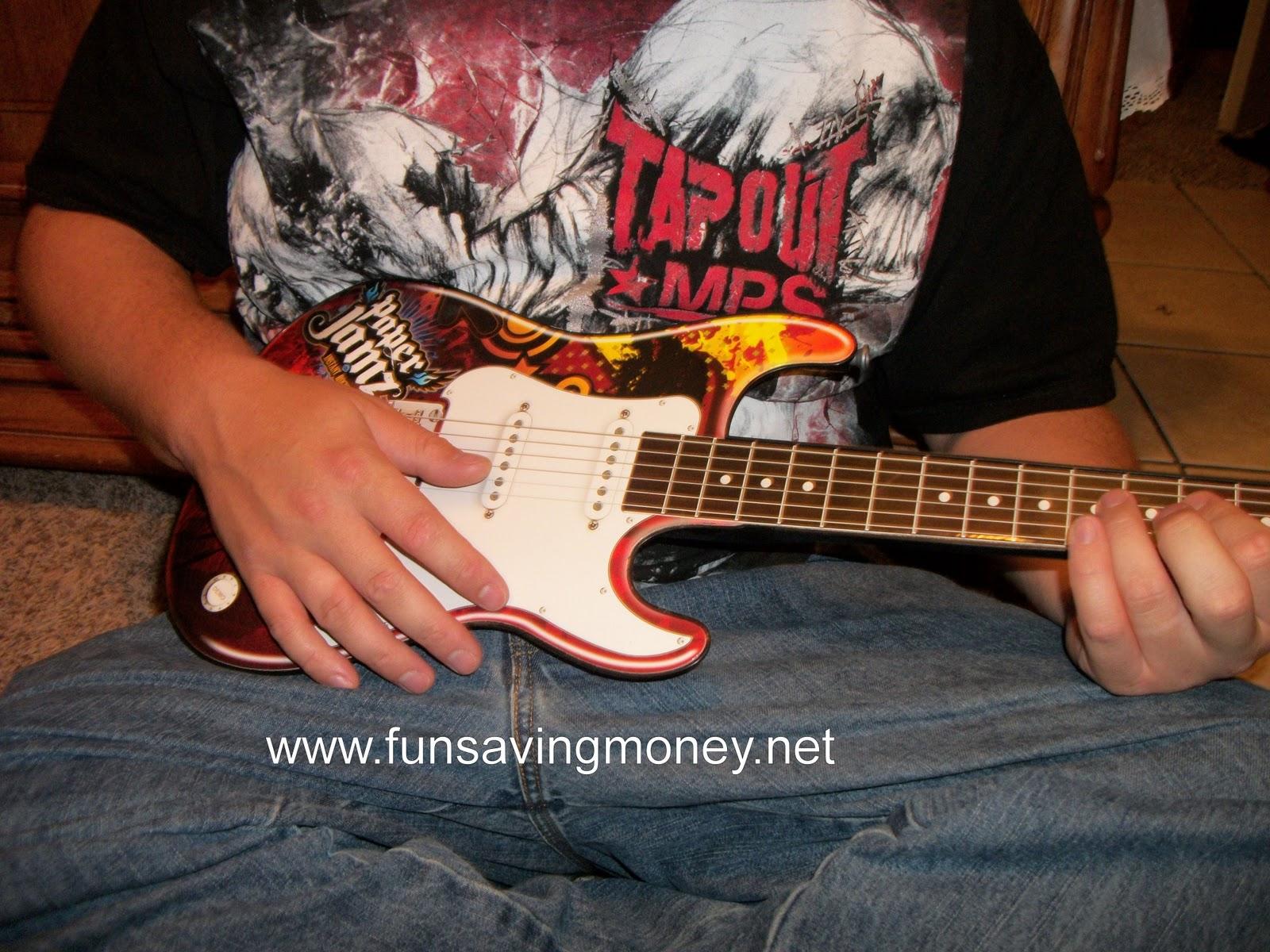 paper jamz guitar instructions